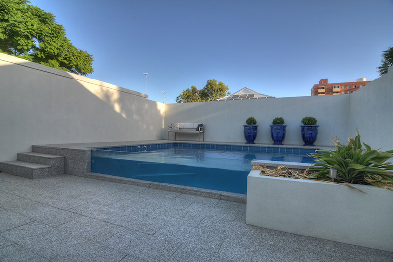 Subiaco Concrete Plunge Pool with Viewing Panel