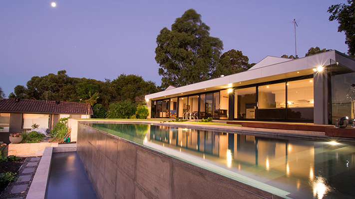 Lesmurdie Infinity Edge - Pools By Design