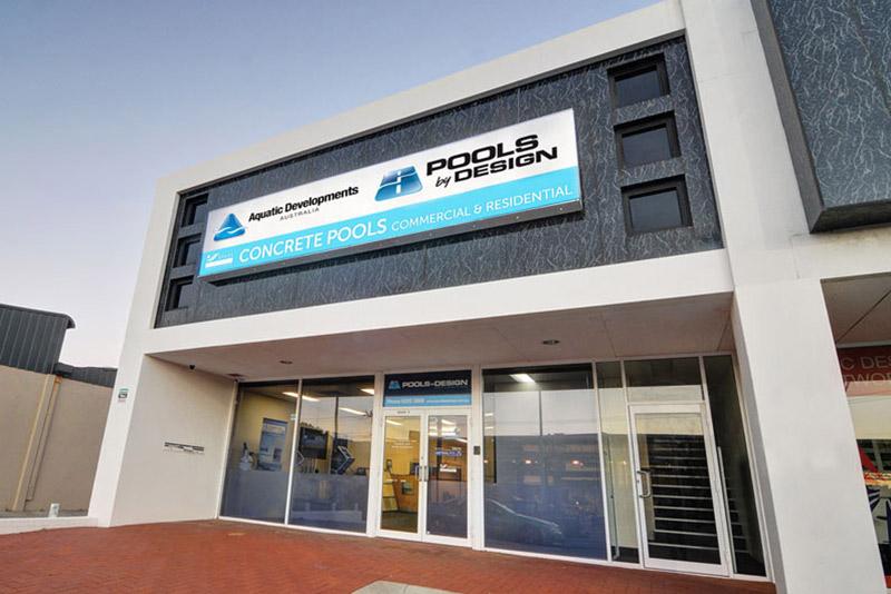 pools by design - facade