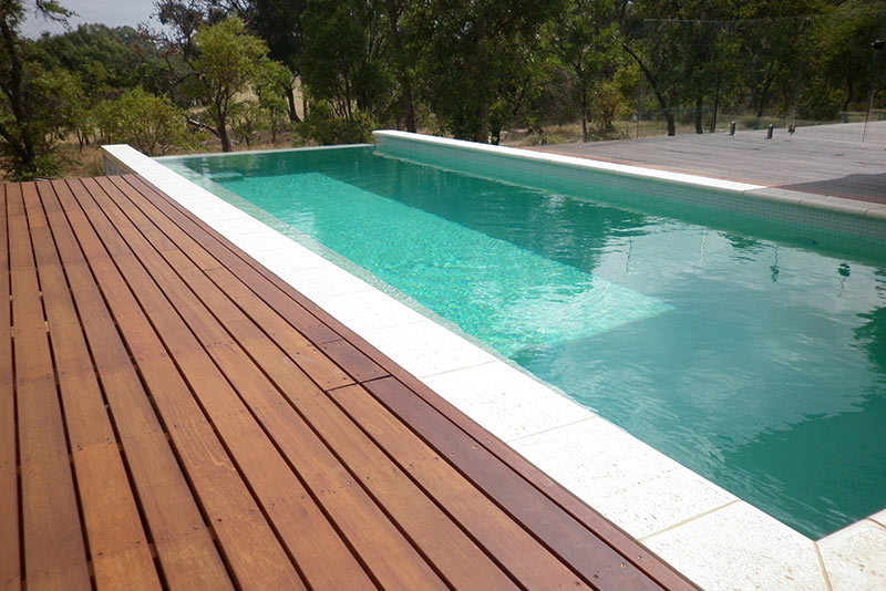 Baldivis Concrete Infinity Edge Pool - Tropicana