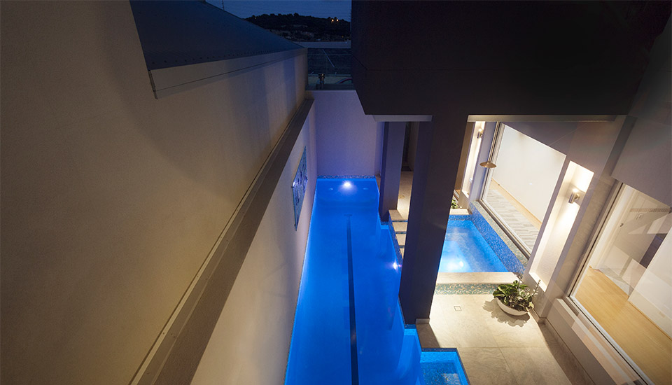 Concrete Lap Pools Perth - Coogee Lap Pool and Spa