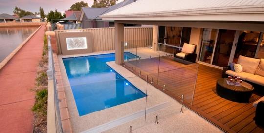 Baldivis Concrete Geometric Pool