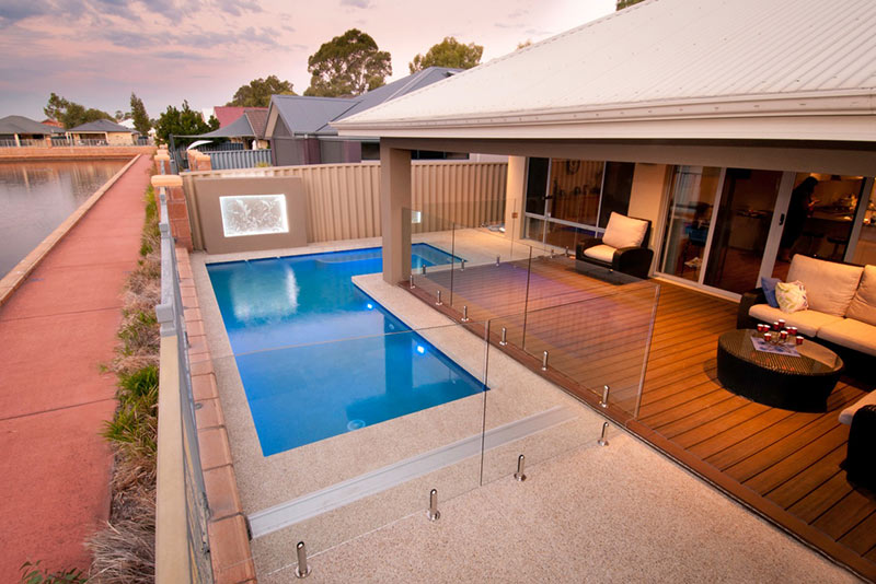 Baldivis Concrete Geometric Pool