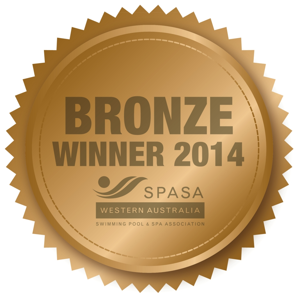 SPASA 2014 Bronze Winner medal
