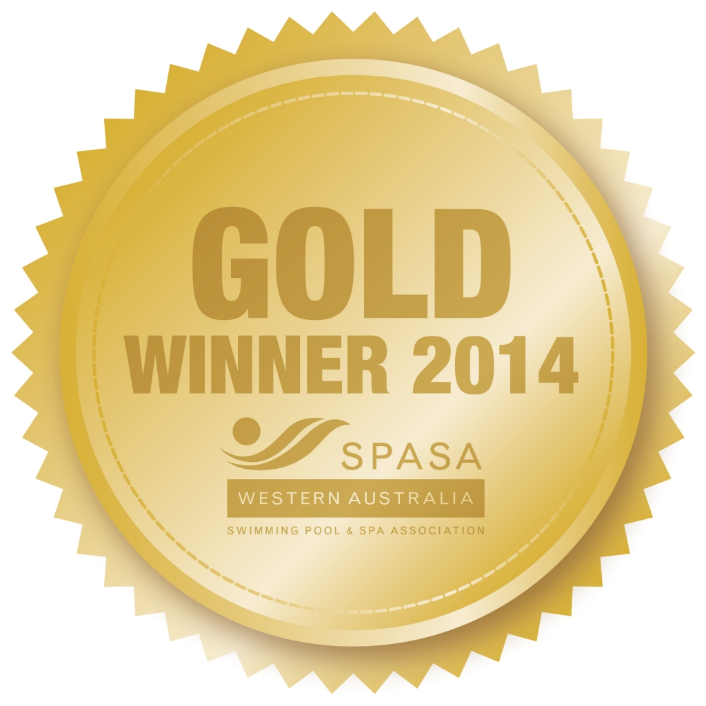 SPASA 2014 Gold Winner medal