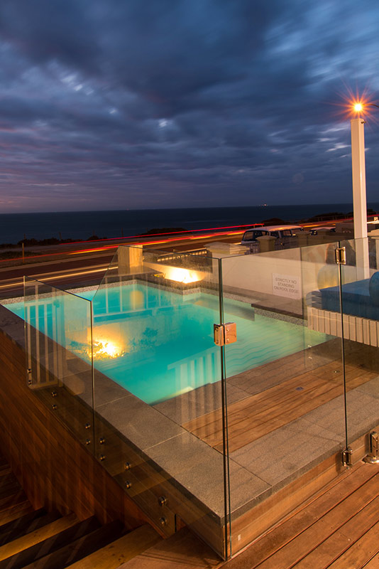Cottesloe Beach Concrete Plunge Pool - Pool Fencing Perth
