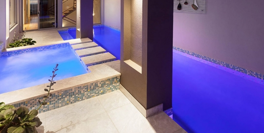 Port Coogee Pool and Spa - Mosaic Spillover Spa