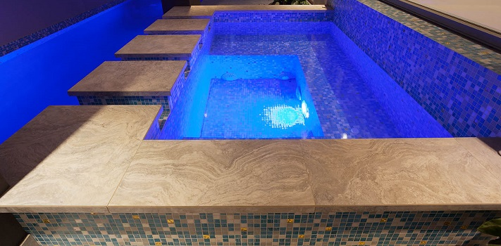 pool trends of 2015 - glass tiling - pools by design