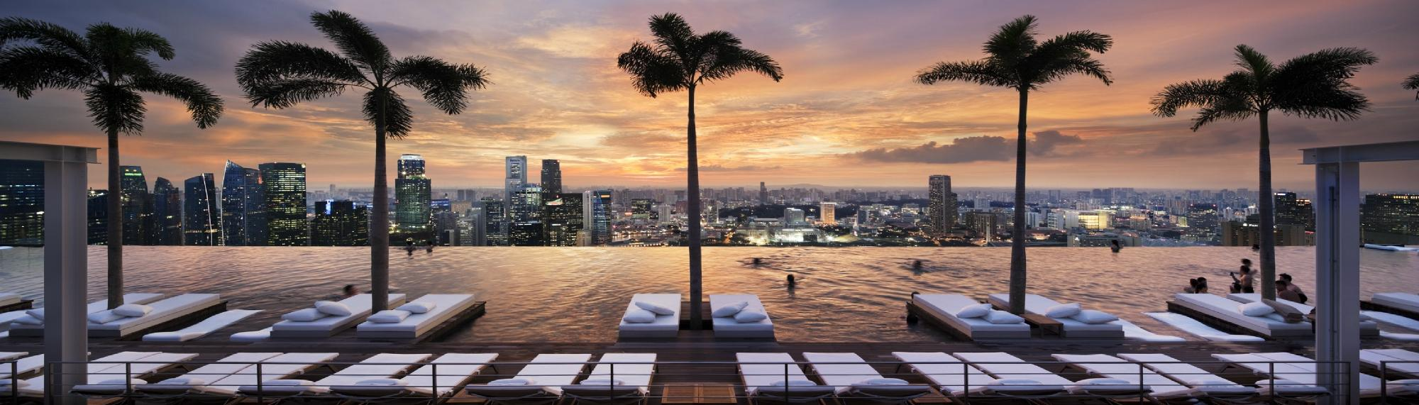 Pool inspiration the marina bay sands pools by design for Marina bay sands architecture concept