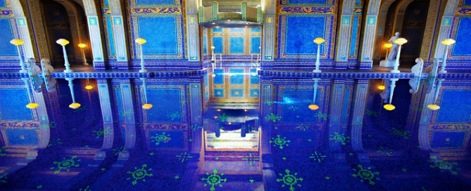most expensive pools - hearst castle indoor