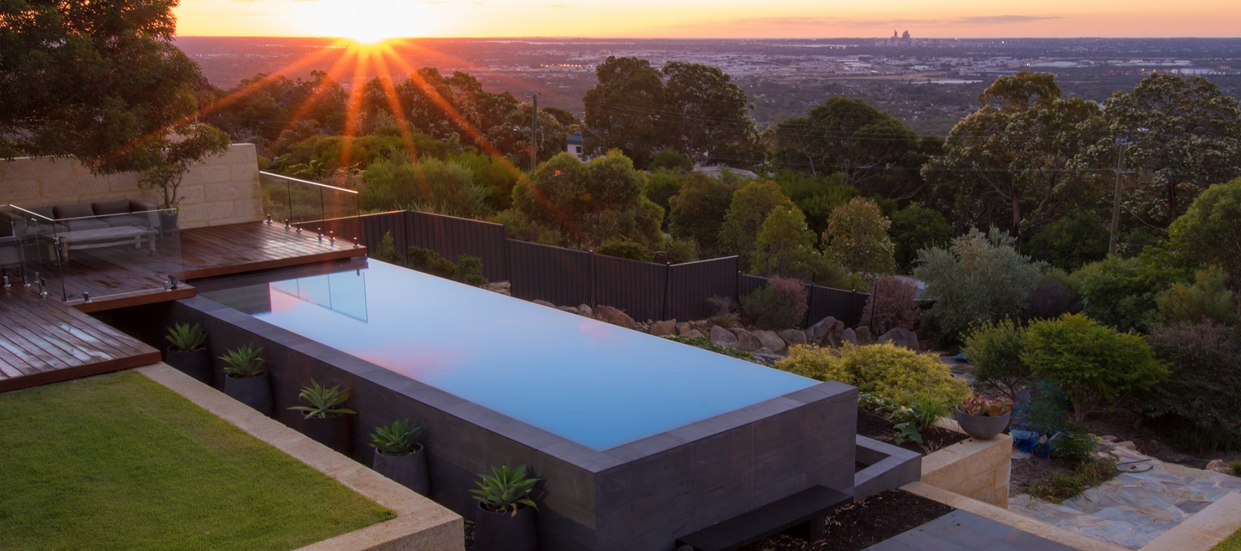 2015 spasa wa pool of the year pools by design for 50000 pool design