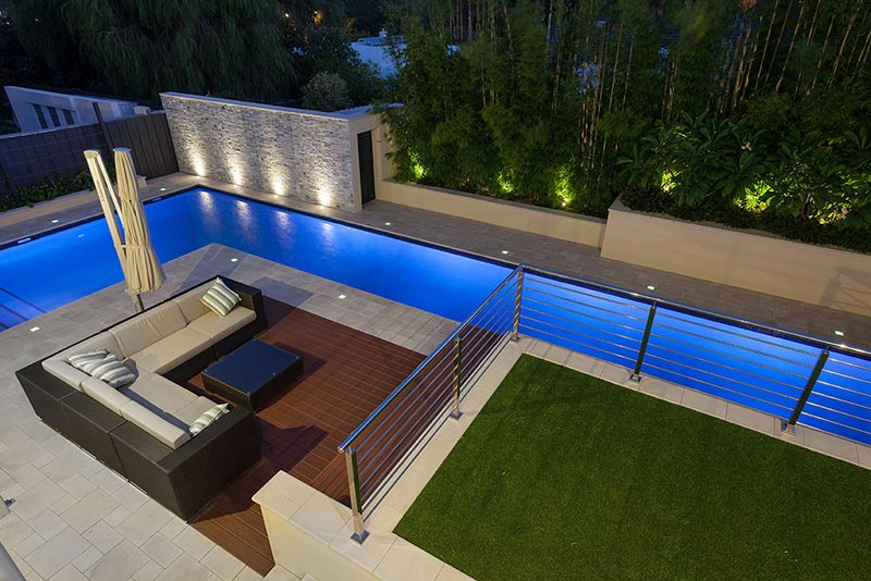 Floreat Concrete Lap Pool - Landscaping and Lap Pool