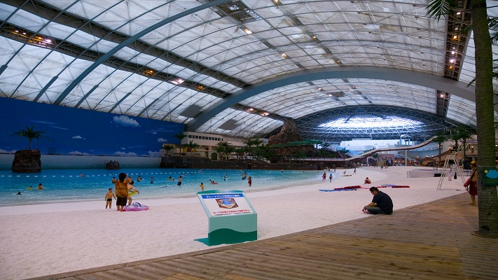 most expensive pools - seagaia ocean dome