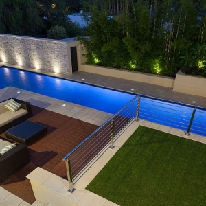 2015 silver winner domestic pool renovation pools by for Domestic swimming pool design