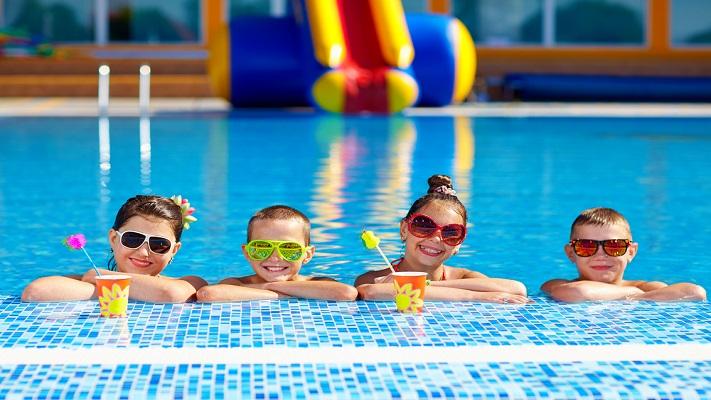 Kids Pool Entry
