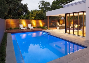 Nedlands Concrete Geometric Pool - Sun Deck