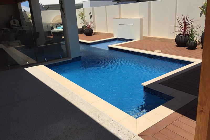 Coogee Concrete Lap Pool - Cabana