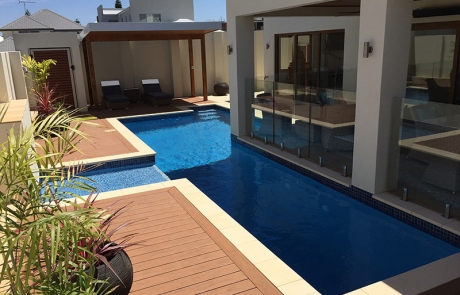 Coogee Concrete Lap Pool - Decking