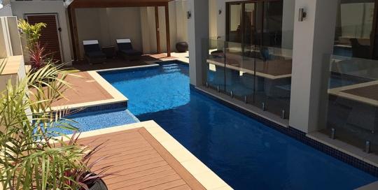 Coogee Concrete Lap Pool - Decking