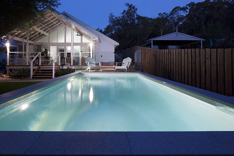Darlington Concrete Geometric Pool - Sandy Beach Quartz Render