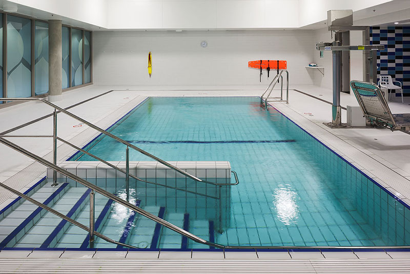 Midland Hydrotherapy Pool - Fully Tiled and Entry Steps