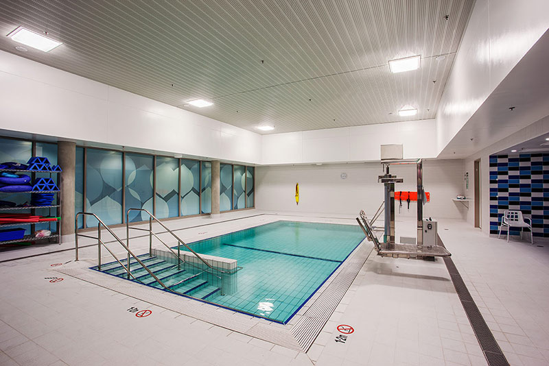 Midland Hydrotherapy Pool with Disabled Access Hoist