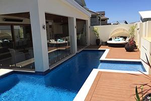 swimming pool benefits - summer days