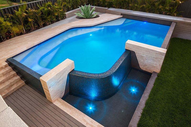 2016 silver winner residential concrete pools 50 000 for 50000 pool design