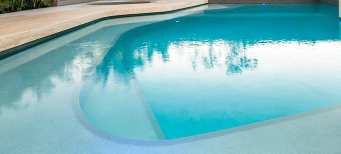 pool finishes - duraquartz render