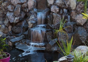 Sitrling Water Feature - Rock Waterfall