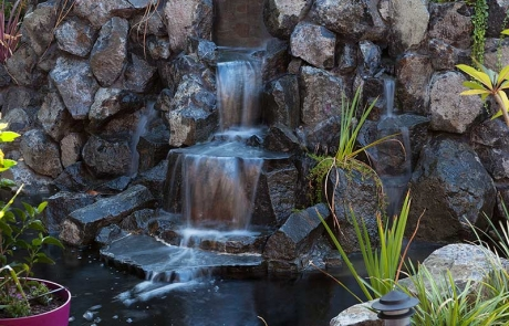 Sitrling Water Feature - Rock Waterfall