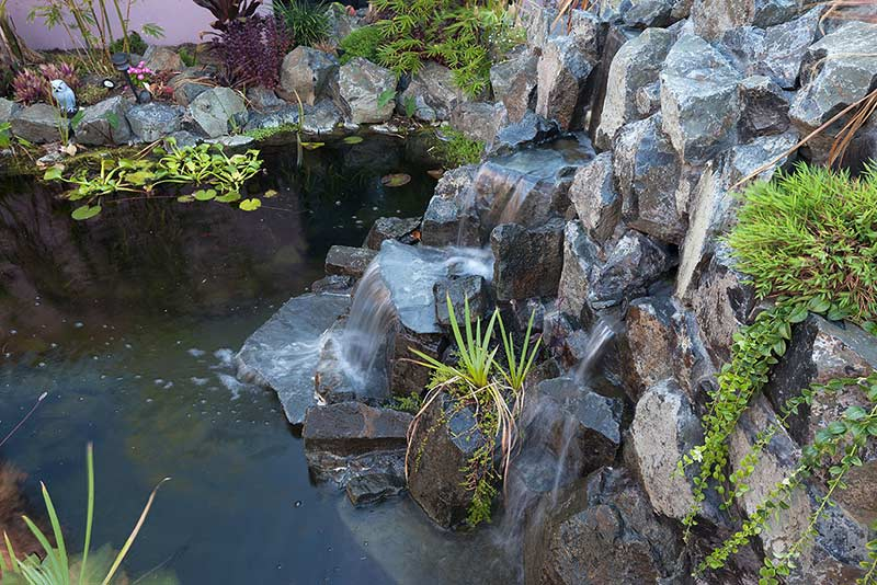 Stirling Water Feature - Rock Cascading Waterfall