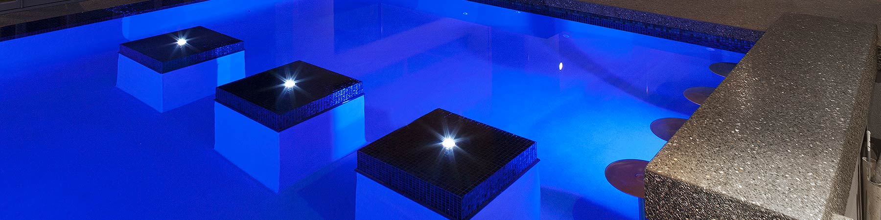 Swimming pool lighting pools by design perth - Swimming pool lighting design ...