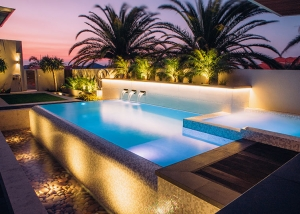 Madora Bay Concrete Pool Spa Combo