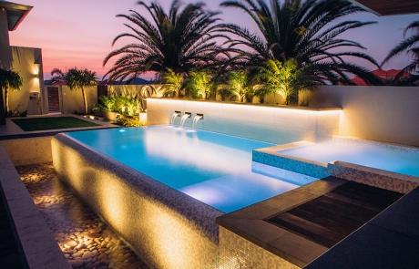 Madora Bay Concrete Pool Spa Combo