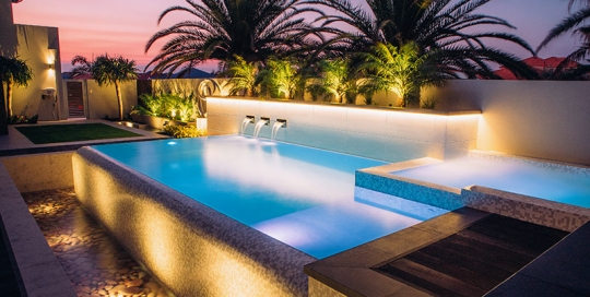 Infinity Edge Pool Archives Pools By Design Concrete