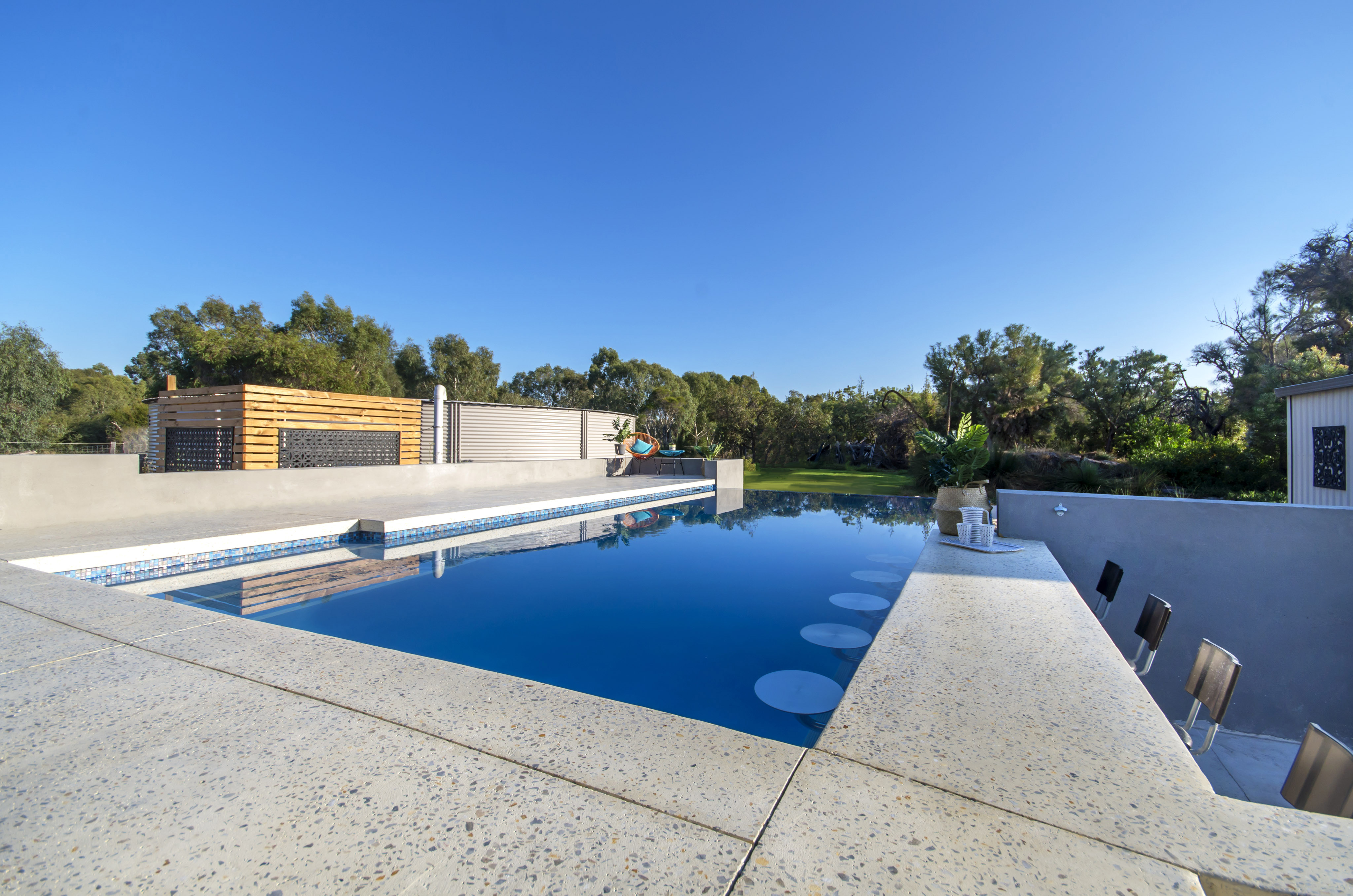 residential infinity pools. The Oakford · Geometric Pools, Infinity Edge Residential Pools G